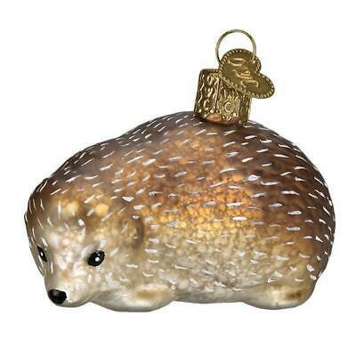 Vintage Hedgehog Ornament by Old World Christmas