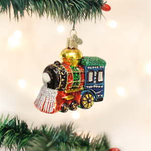 Small Locomotive Ornament by Old World Christmas