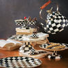 Courtly Check Enamel Serving Platter by MacKenzie-Childs
