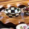 Courtly Check Enamel Relish Dish by MacKenzie-Childs