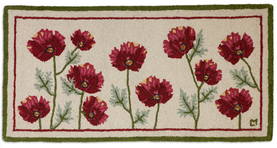Poppy Profusion 2' x 4' Rug by Chandler 4 Corners