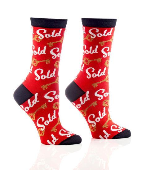 Real Estate Agent Women's Crew Socks by Yo Sox