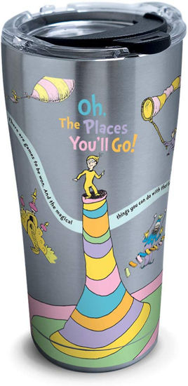 Dr. Seuss™ - Oh The Places You'll Go 20oz. Stainless Steel Tumbler by Tervis