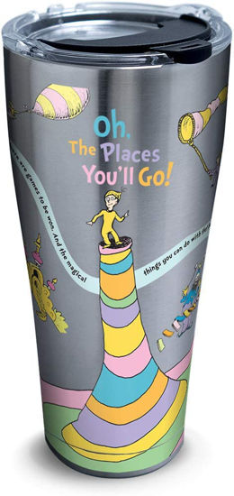Dr. Seuss - Oh The Places You'll Go 30oz. Stainless Steel Tumbler by Tervis