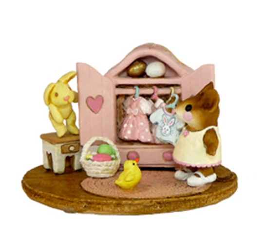 Molly's Easter Choice M-257a BY WEE FOREST FOLK