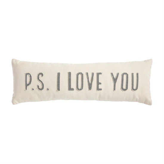 P.S.  I Love You Pillow by Mudpie