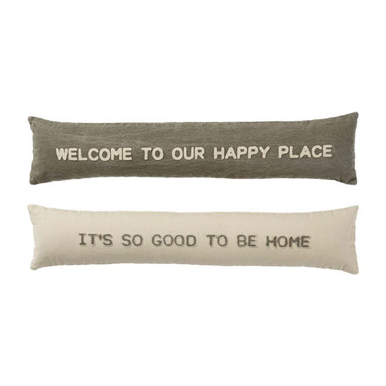 Happy Skinny Pillows (Assorted) by Mudpie