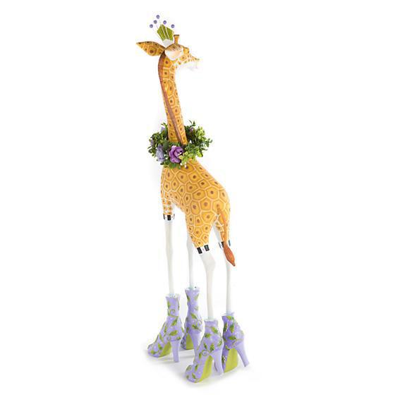 Jambo Janet Giraffe Figure by Patience Brewster