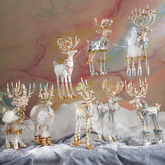 Moonbeam Prancer Reindeer Figure by Patience Brewster