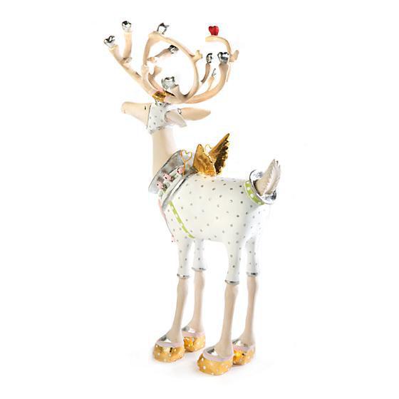 Moonbeam Cupid Reindeer Figure by Patience Brewster