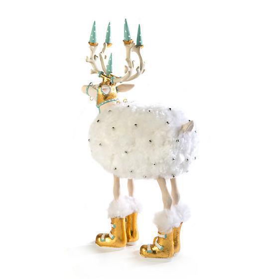 Moonbeam Blitzen Reindeer Figure by Patience Brewster