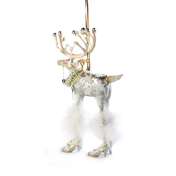 Moonbeam Vixen Reindeer Ornament by Patience Brewster