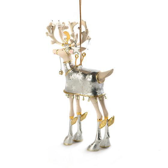 Moonbeam Comet Reindeer Ornament by Patience Brewster