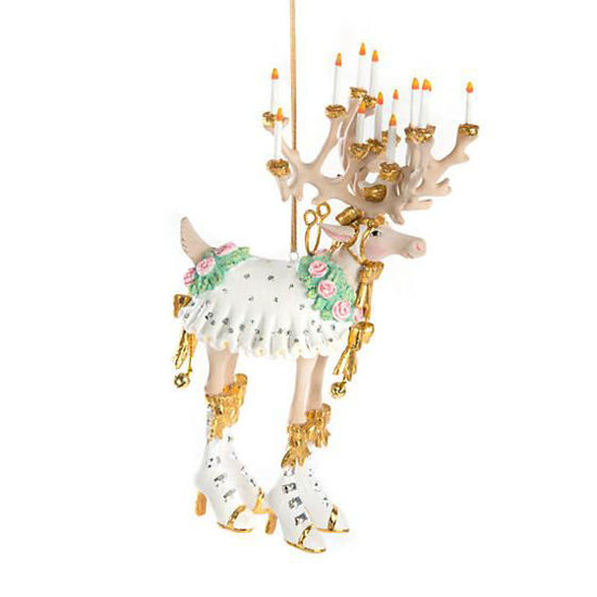 Moonbeam Donna Reindeer Ornament by Patience Brewster
