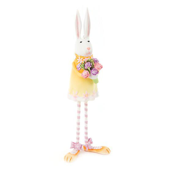 Estelle Bunny Ornament by Patience Brewster