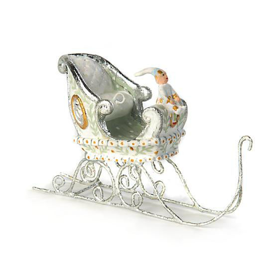 Moonbeam Sleigh Mini Ornament by Patience Brewster