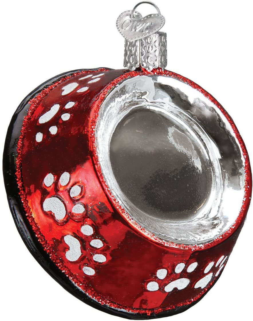Dog Bowl Ornament by Old World Christmas