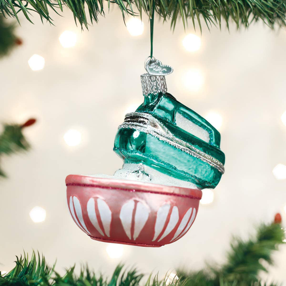 Hand Mixer Ornament by Old World Christmas