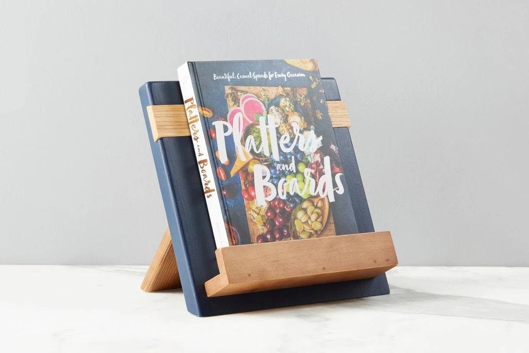 Navy Mod iPad / Cookbook Holder by etúHOME