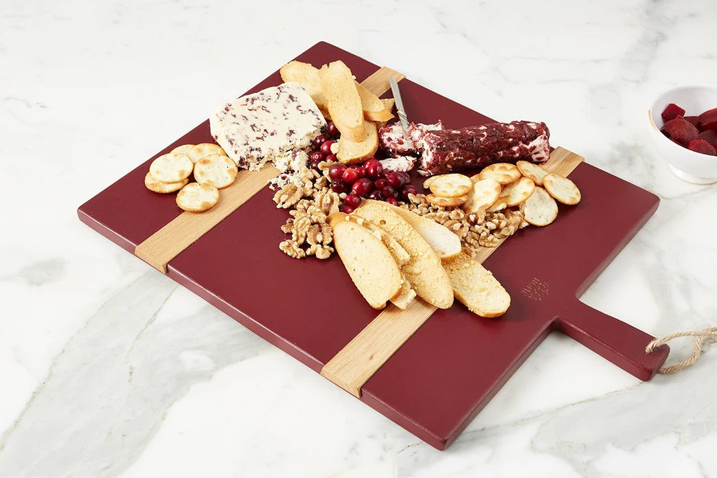 Merlot Rectangle Mod Charcuterie Board, Medium  by etúHOME