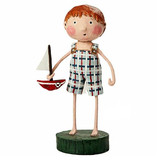 Stuart's Sailboat by Lori Mitchell
