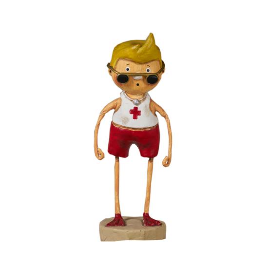 Lars the Lifeguard by Lori Mitchell