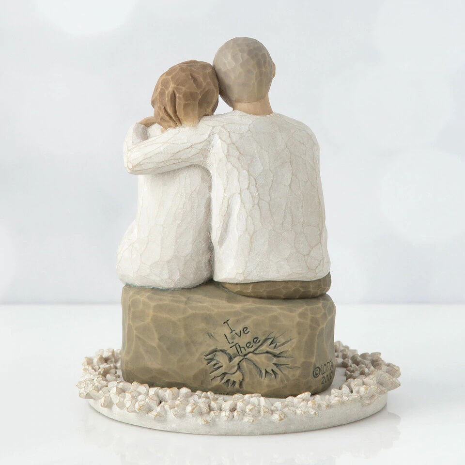 Anniversary Cake Topper by Willow Tree®
