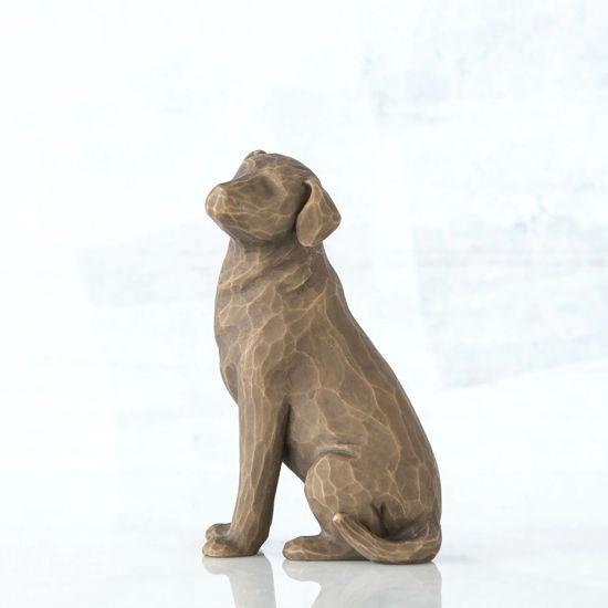 Love my Dog (dark)  by Willow Tree®
