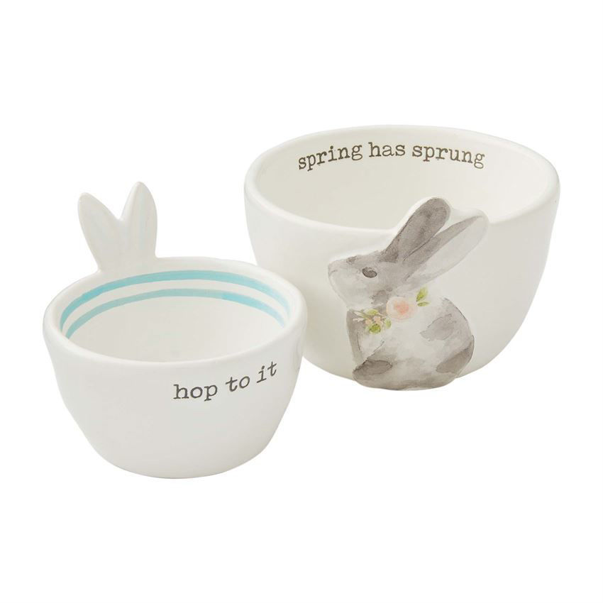 Easter Candy Bowl Sets by Mudpie