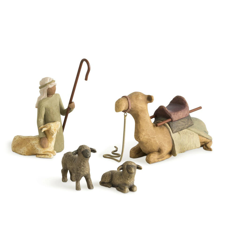 Shepherd and Stable Animals  by Willow Tree®