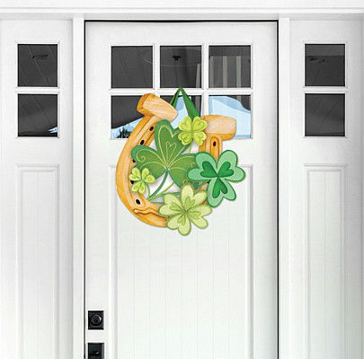 Lucky to be Irish Door Decor by Studio M