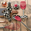Courtly Check Spoon - Red by MacKenzie-Childs