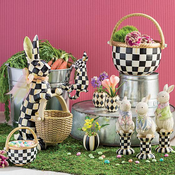 Courtly Check Rabbit by MacKenzie-Childs