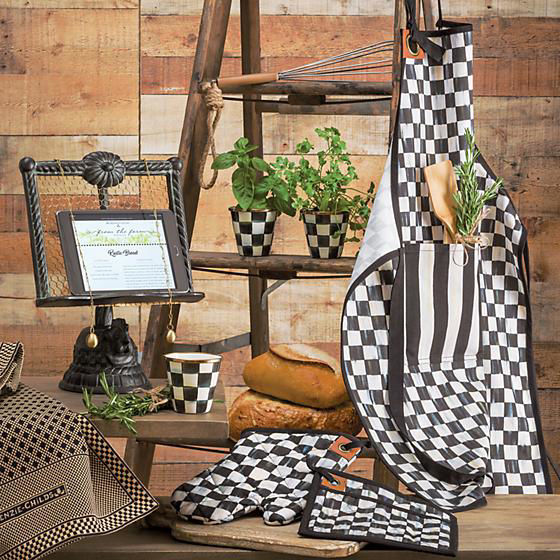 Courtly Check Bistro Oven Mitt by MacKenzie-Childs