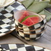 Courtly Check Enamel Everyday Bowl by MacKenzie-Childs