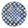 Royal Check Enamel Serving Platter by MacKenzie-Childs