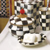 Courtly Check Enamel Squashed Pot by MacKenzie-Childs