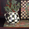 Courtly Check Enamel Pitcher by MacKenzie-Childs