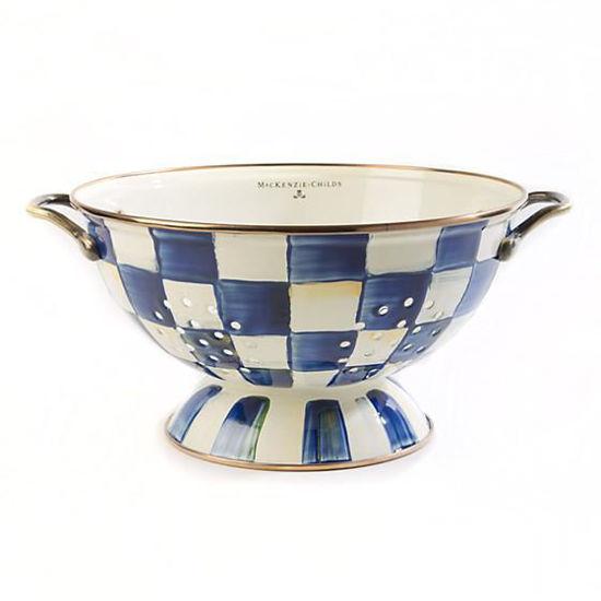 Royal Check Enamel Everything Bowl by MacKenzie-Childs