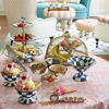 Royal Check Enamel Ice Cream Dish by MacKenzie-Childs
