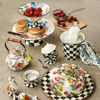 Courtly Check Enamel Ice Cream Dish by MacKenzie-Childs