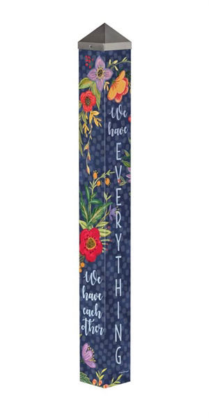 """Family is Everything 40"""" Art Pole by Studio M"""
