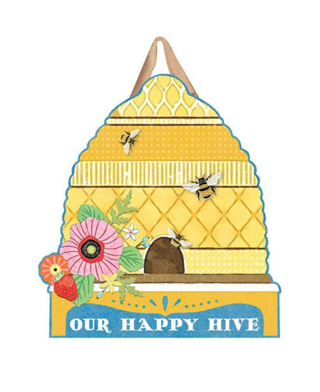 Happy Hive Door Decor by Studio M