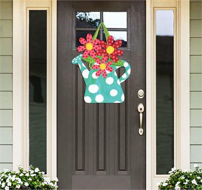 Watering Can Door Decor by Studio M