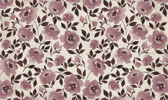 Moonlight Rose - Blush Floor Flair - 3 x 5  by Studio M