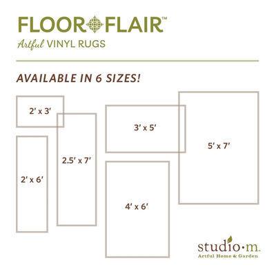 Zig Zag Floor Flair - 2 x 3 by Studio M