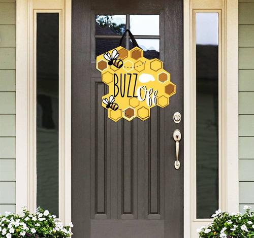 Buzz Off Door Decor by Studio M