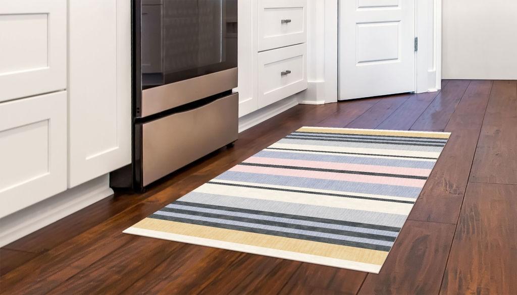 Broad Stripes - Beach Floor Flair- 3 x 5  by Studio M