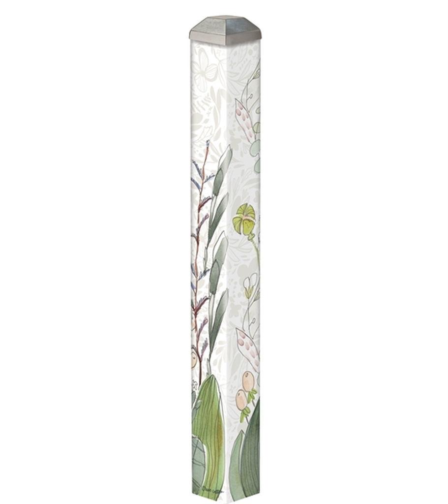 "Floral 16"" Mini Art Pole by Studio M"