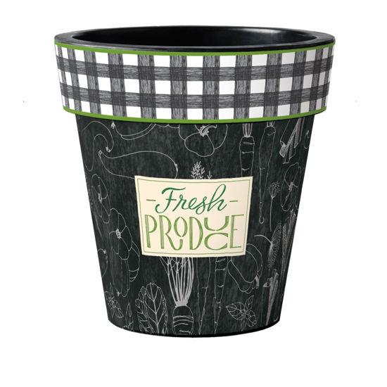 "Fresh Produce 18"" Art Planter by Studio M"